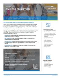 Alianza BTM Education Data Sheet Pic