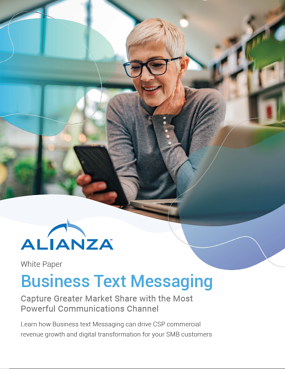 Alianza Business Text Messaging Whitepaper Pic